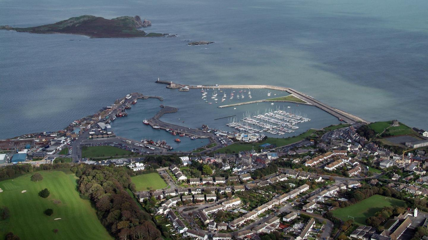 Howth aerial shot