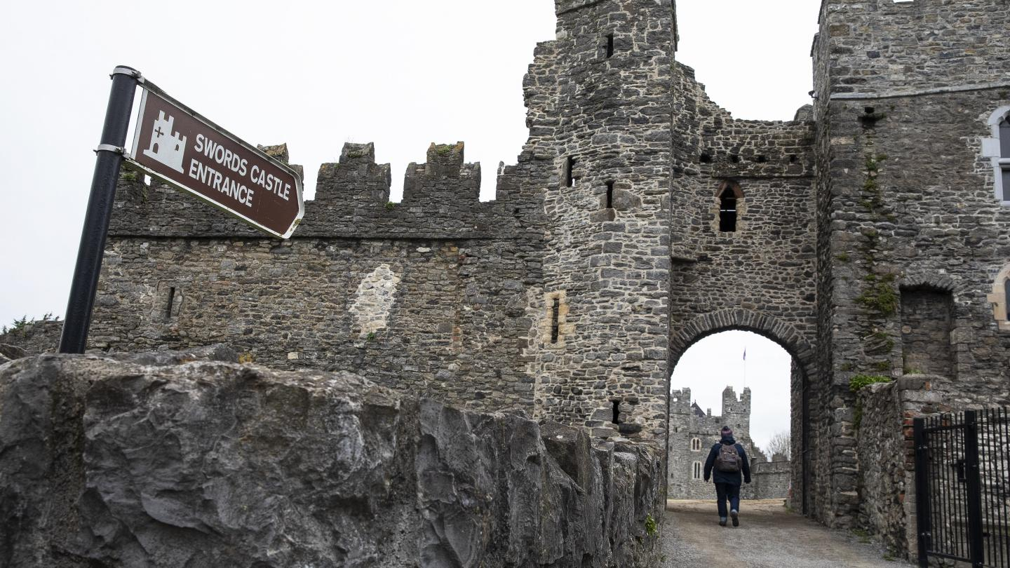 Swords Castle Entrance