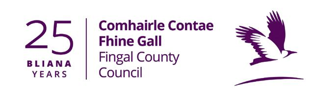 Fingal 25 years logo