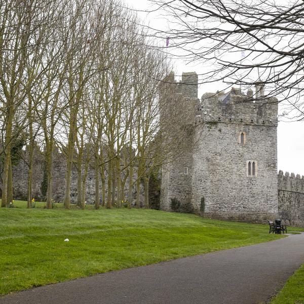 Swords Castle Exterior