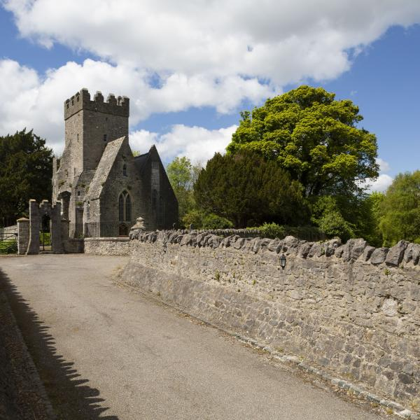 St. Doulagh's Church Path