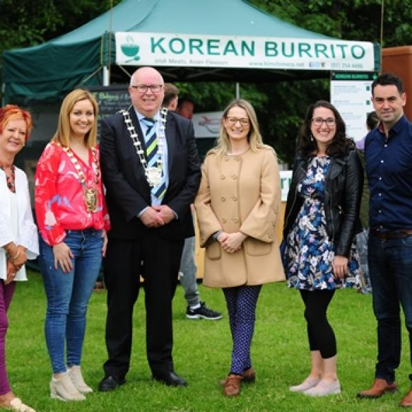 Launch of Urban Food & Craft market in St.Catherine's park