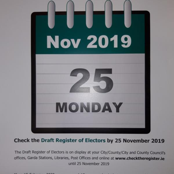 Draft Register of Electors