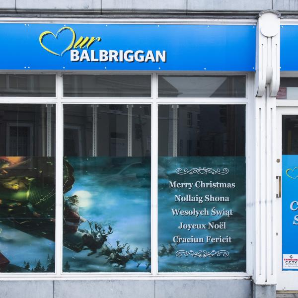 Our Balbriggan shop front