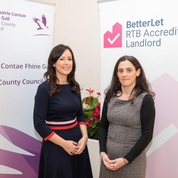 "Fingal County Council, in partnership with the Residential Tenancies Board (RTB), organised a successful ""Betterlet: Accredited Landlord Training Scheme"", the first of its kind to be rolled out in the county."
