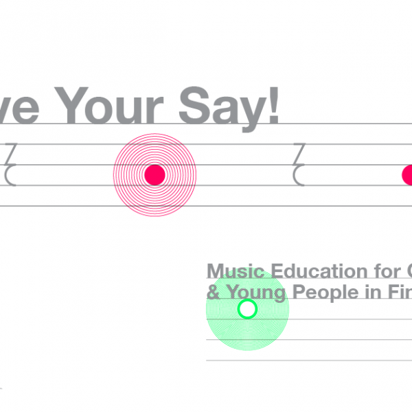 Have your say Music Education Rectangle