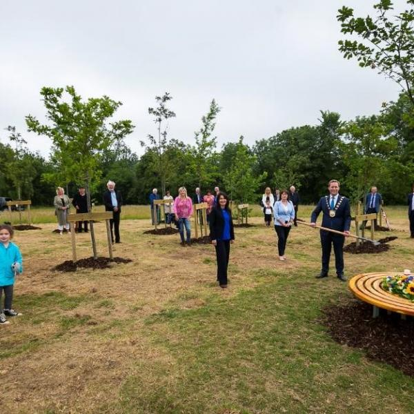 Oak tree ceremony 2
