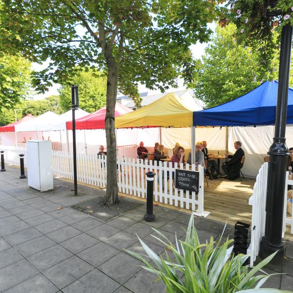 Parklets in Swords September 2020