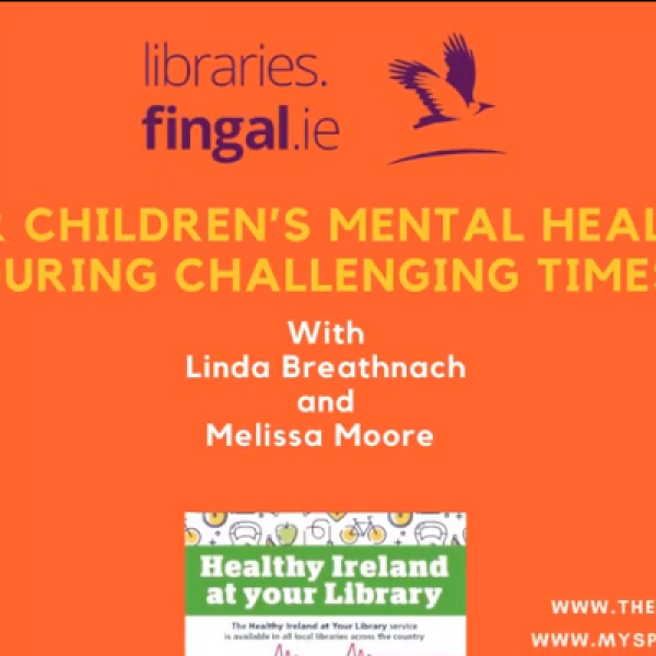 Library's Self Care and Children's Mental Health Poster