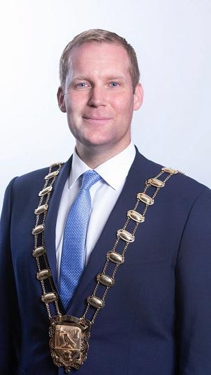 Mayor Eoghan O'Brien