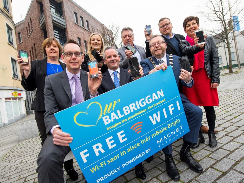 Balbriggan Wifi launch