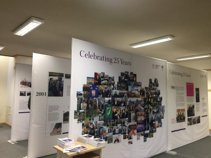 Fingal County Council 25th anniversary exhibition