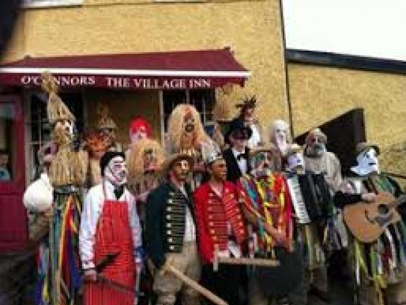 Cultural heritage Fingal mummers
