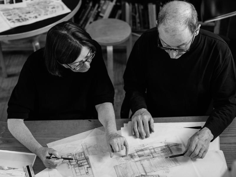 Sheila O'Donnell and John Tuomey will lead the Swords Cultural Quarter integrated design team