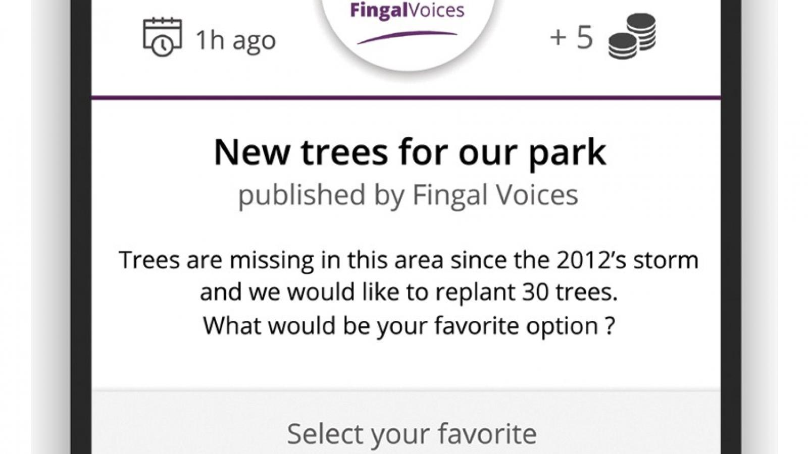 Fingal voices app 2